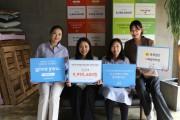 [보도]육육걸즈와 지파운데이션이 2018년부터 '기부유 캠페인'을 통해 여성청소년에게 생리대를 지원했다.jpg