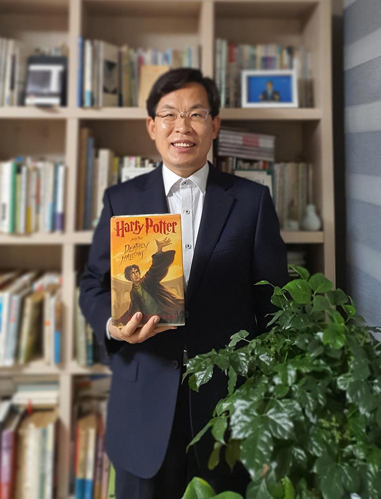 세계적 베스트셀러 '해리포터'를 소개하는 이효상 원장01.jpg